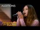 Makayla Phillips: 15-Year-Old Receives Golden Buzzer For Warrior - America's Got Talent 2018