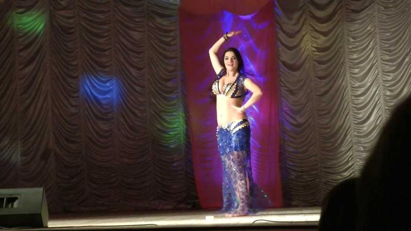 Yulia Redkous - Sherra el fan on the gala-show in Abakan 13/04/2013