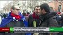 Un journaliste de RT France pris à partie durant la manifestation des Foulards rouges