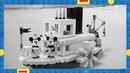 LEGO Ideas Steamboat Willie Set 21317 Revealed