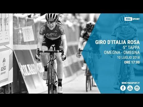 Giro dItalia Rosa 5° Tappa - Omegna