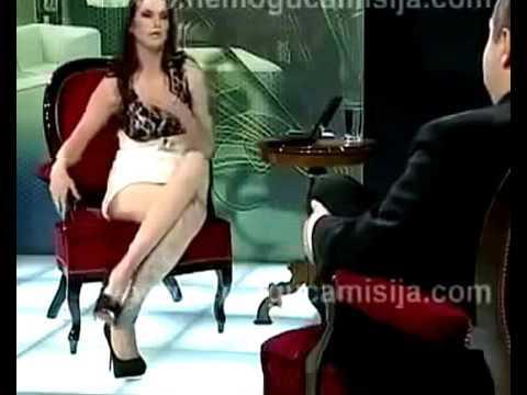 Телеведущая без трусов застесняла президента)) 18 mp