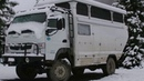 ATW ALPHA CAMPER IN THE SNOW
