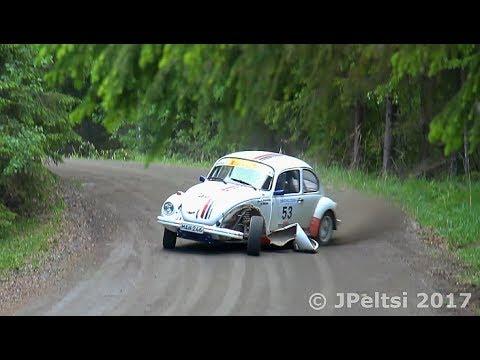 Toivakka rally 17.6.2017, action