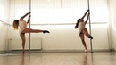 Loïc Nottet-Million eyes/Contemporary pole/MajaTeja (routine by Masha Pinner- Pandora art of pole)