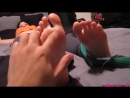 ENJOYABLE FOOT TICKLING