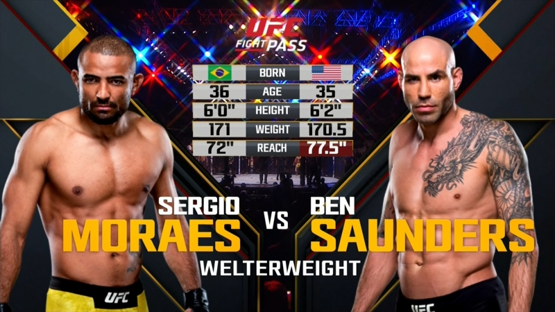 UFC_FN_137 Sergio Moraes vs. Ben Saunders