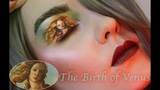 Recreating Renaissance Art On My Eyelid Makeup Tutorial (Timelapse)