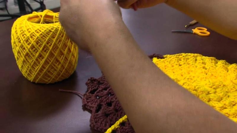 Mulher.com - 29/02/2016 - Arte em crochê - Cristina Luriko PT2