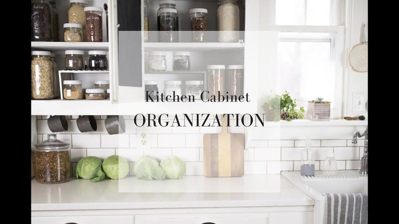 Pantry Organization with Mason Jars| FARMHOUSE KITCHEN