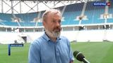 Ливневая канализация не справилась с потоком воды у стадиона Волгоград Арена