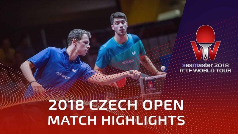 Jonathan Groth/Patrick Franziska vs Kristian Karlsson/Mattias | 2018 Czech Open Highlights (Final)