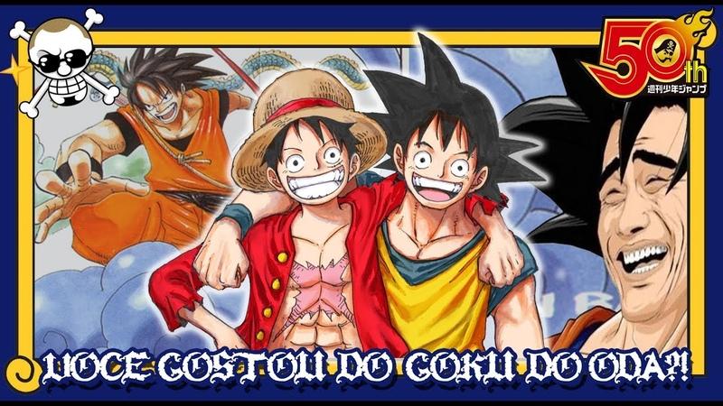[Jump 50th] Você Gostou do Goku do Oda! Nem Ele!!