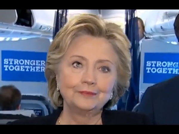 Hillary Clintons Crazy Eyes! (Better Quality)