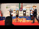 Церемония Награждения Первенства Европы 2019. Ксения Моисеева. Бронза.