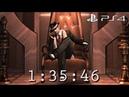 Resident Evil 4 PS4 Speedrun 1:35:46 NO SAVES Single Segment 60fps