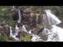 водопад ергаки