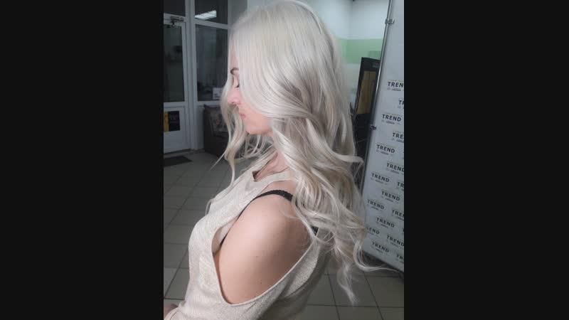 Моя красивая блондиночка Не могу ручаться за всех, но все мои блонди всегда с идеальными, качественными и струящимися волоса