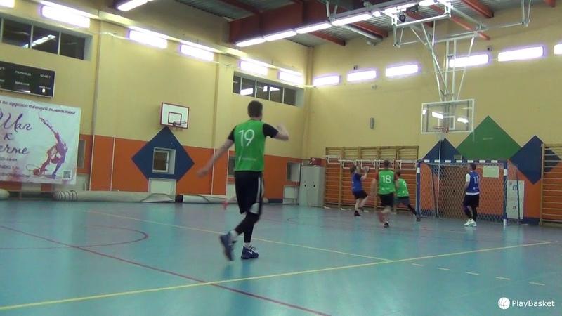 PlayBasket. Видеообзор 14.01.2019 (Метро Достоевская). Любительский баскетбол в Москве