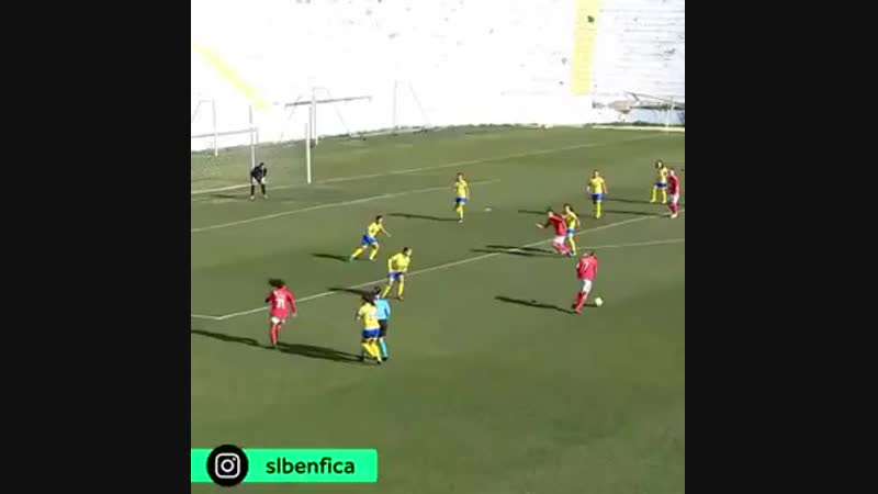 Kadınlar Futbol - Benfica, Pego Takımını 32-0 yendi.mp4