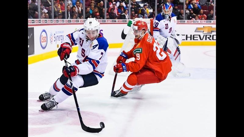 МЧМ 2019 | Россия U20 - США U20 | RUS vs USA | RUSSIA vs UNITED STATES | Официальный обзор