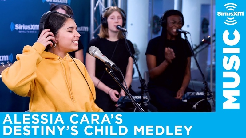 Alessia Cara performs Destinys Child Medley