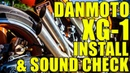 Danmoto XG-1 Install, Review and Sound Check!