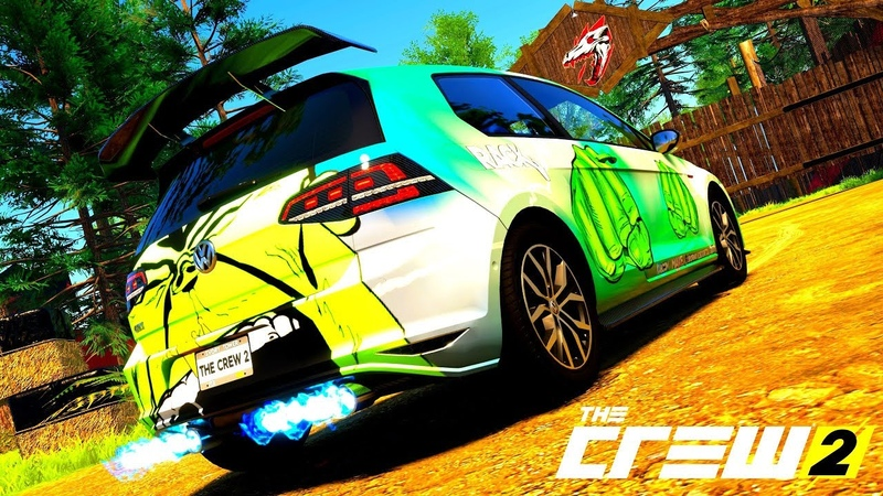 THE CREW 2 GOLD EDiTiON (TUNiNG) VOLKSWAGEN GOLF GTI PART 543 ...