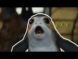 Porgs! Love Them Or Hate Them - Every Porg Scene in Star Wars The Last Jedi HD