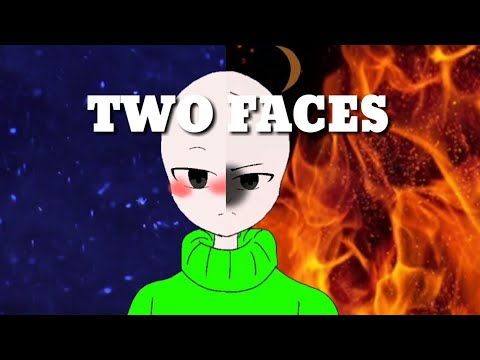 Two faces meme flipaclip ( baldis basics animation) 《lazy》