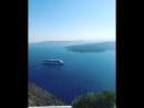 Остров Санторини Греция кому сейчас душно в офисах не благодарите