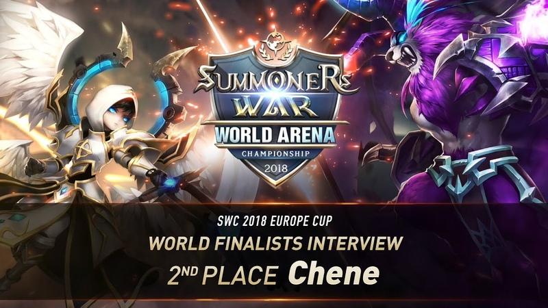 EN KO SUB World Finalists Interview Chene Summoners War 서머너즈워