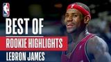 LeBron James BEST NBA Rookie Highlights 2003-2004 NBA Season #NBANews #NBA #Cavaliers #LeBronJames