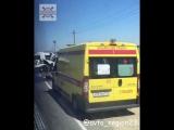 10 августа около 1100 на трассе Славянск - Крымск лоб в лоб столкнулись ГАЗель и фургон марки ВИС