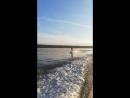 Первый раз встал на wakeboard