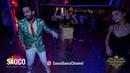Shems and Elena Badzym Salsa Dancing at Vienna Salsa Congress 2018 Monday 10 12 2018