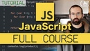 Learn JavaScript Full Course for Beginners