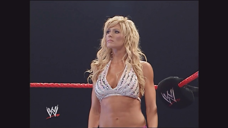 Torrie Wilson vs. Trish Stratus: Raw, Sept. 19, 2005