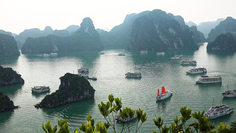 Ha Long Bay, Вьетнам в формате 4K Ultra HD