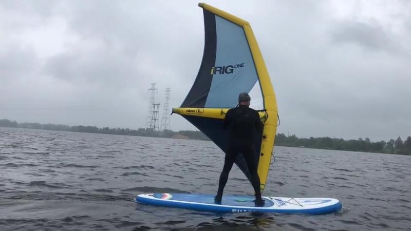 IRig sail. Парус Айриг для виндсерфинга.