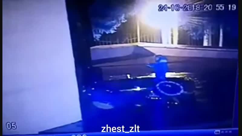 Осквернили памятник ВОВ