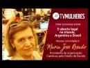 TV Mulheres | nº23: O aborto legal na Irlanda, Argentina e Brasil com Maria José Rosado