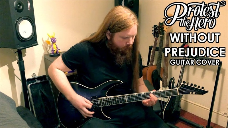 Protest The Hero - Without Prejudice (Guitar Cover)