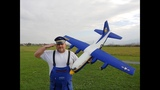Avios C-130 FAT ALBERT Blue Angels Hercules 1.6m PNF Maiden flight