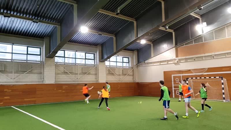 Moscow Shamrocks Gaelic Football indoor training