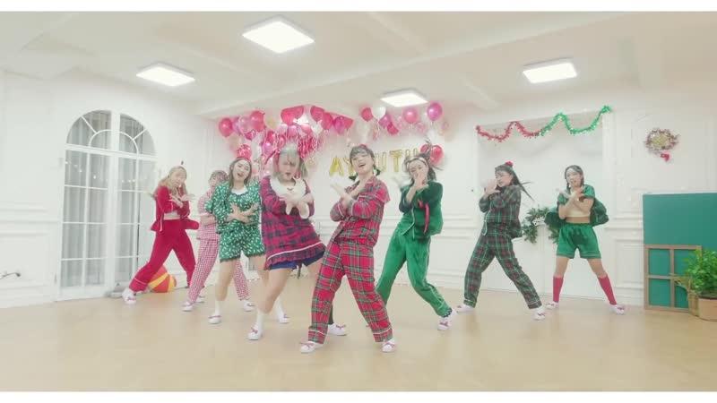 """크리스마스 파자마 파티 댄스 ¦ _""""Just Got Paid_"""" Dance ¦ Luna Hyun Choreography ¦ A.YOUTH"""