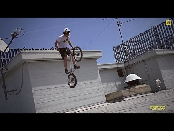 Urban bike trial the movie, with Paolo Patrizi Peugeot Partner