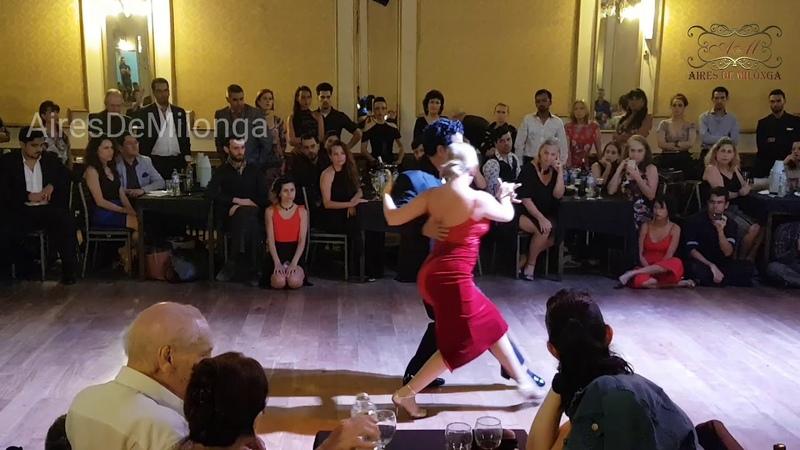 International tango stars, Noelia Hurtado, Sebastian Arce. Festival Tango Salón