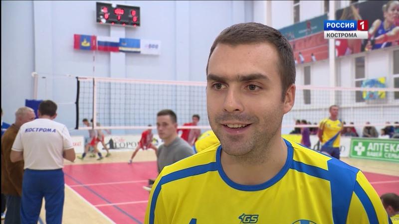 Волейболисты костромского «Волжанина» дебютировали в первой лиге Чемпионата России