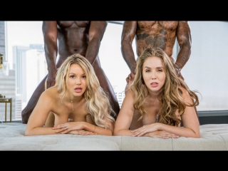 Kylie page & lena paul  -   best friends for ever   blacked